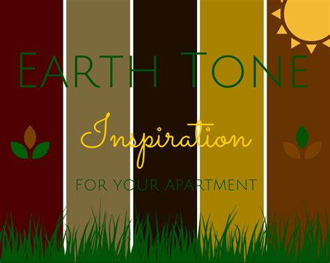 what colors are earth tones 8 easy breezy earth tone palettes for your apartment