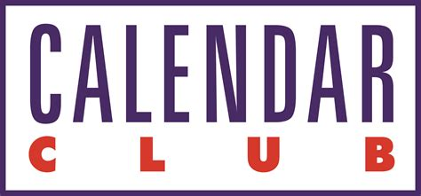 Calendar Logo Calendar Club Logos And Store Images