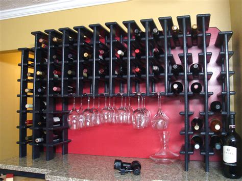 Diy Wall Mounted Wine Rack by How To Install A Wall Mounted Wine Rack How Tos Diy