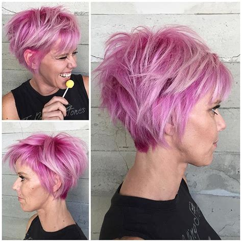 colorful short haircut 226 best short hair vivid color images on pinterest