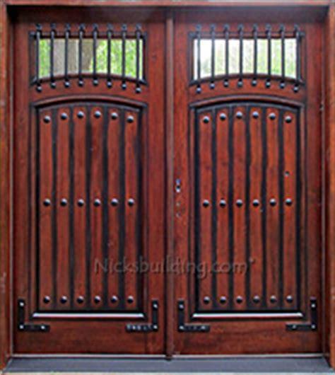 rustic custom front entry doors custom wood doors from rustic exterior doors knotty alder doors western style