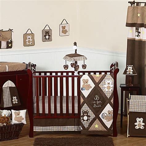 bear crib bedding sweet jojo designs teddy bear crib bedding collection in