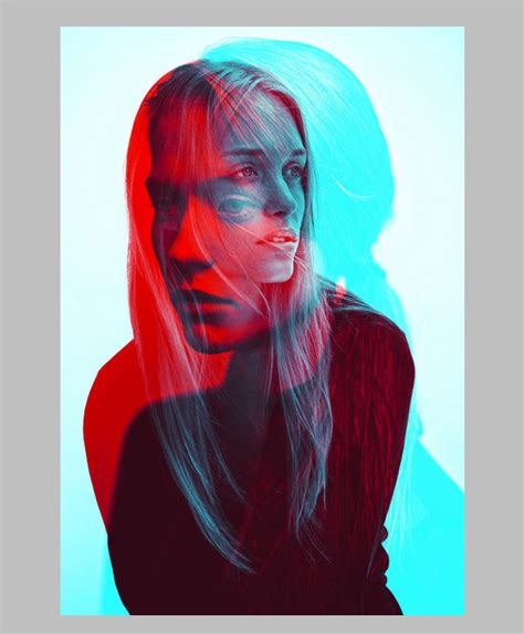 black pattern double color exposure 40 best photoshop actions 2015 web graphic design