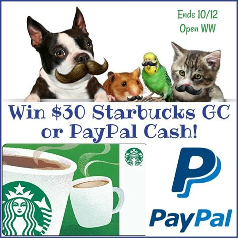 Win Free Money Paypal - win 30 starbucks gc or paypal cash it s free at last