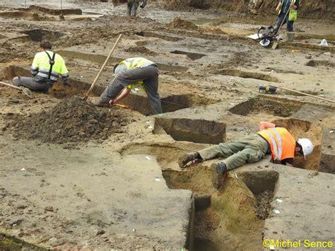 puits de lumiere 2418 visite du chantier de fouilles sur le site 171 hurlupin