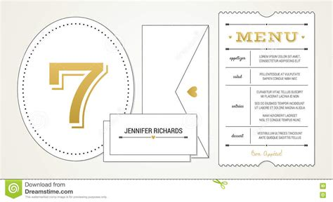 menu place cards template free wedding invitation pt 3 template menu table number