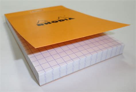 How To Make Pads Of Paper - bloc rhodia no 11 graph paper pad pens n paper