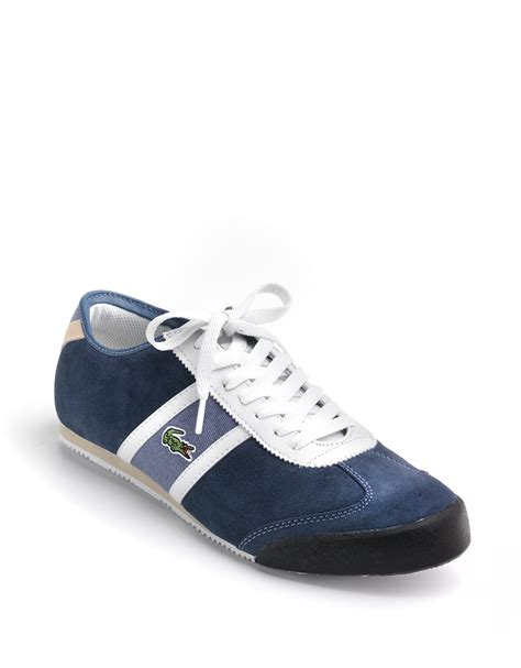 lacoste sneakers for lacoste tourelle sneakers in blue for lyst