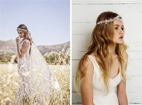 Wedding Hair Pieces Boho by Boho Bridal Hair Accessories From Bo Luca Southbound