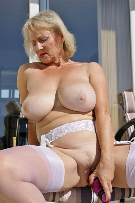 Real british mature milf With Natural 32gg Tits The Hairy Lady Blog
