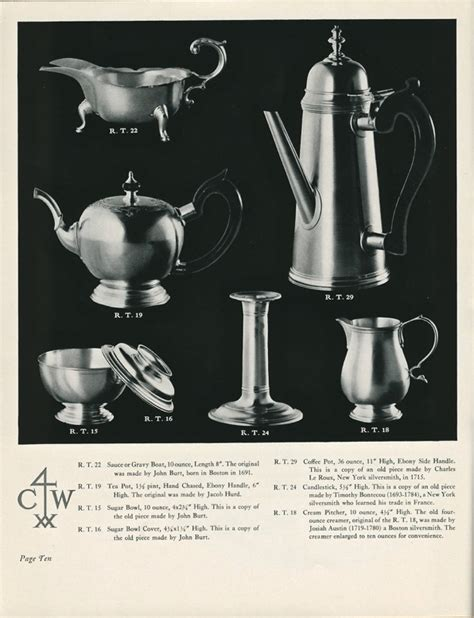 Guess Cwe Rt Permata Silver Original the 1940 colonial williamsburg sterling silver catalog