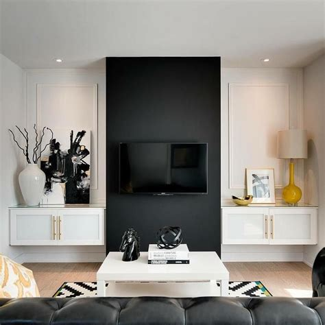 living room accent wall ideas tags stunning accent wall black accent wall in living room house interiors 4874