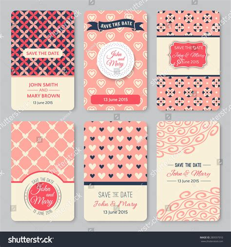 pattern html date set of perfect wedding templates with pattern theme ideal