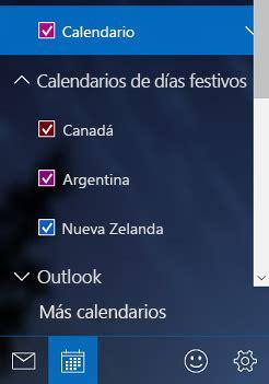 Calendario De Windows 7 Agregar Ver Y Quitar Un Calendario De Vacaciones En La