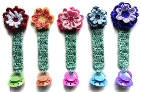 free crochet pattern pacifier holder pacifier holder with animals pdf crochet pattern