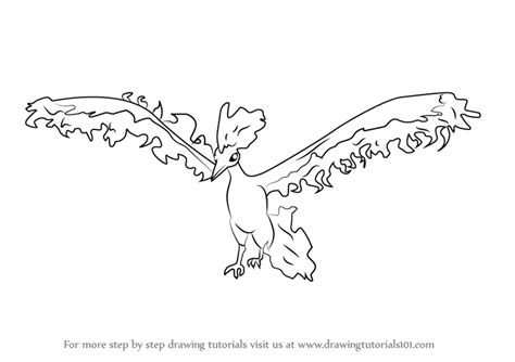 pokemon coloring pages moltres learn how to draw moltres from pokemon go pokemon go