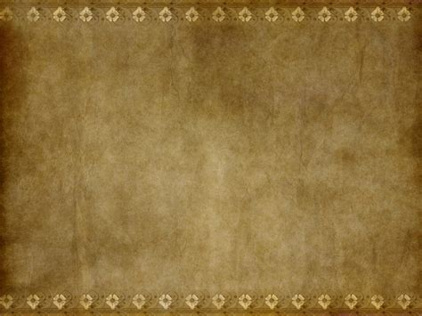 Paper Look - brown paper texture or parchment paper with ornamental