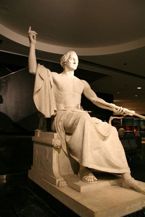 george washington as zeus images of george washington zeus statue mentioned in the
