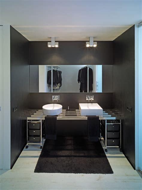 modern black bathrooms modern black bathroom modern bathrooms lonny