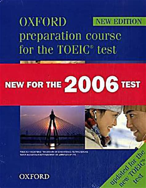 oxford preparation course for the toeic test student s book tapescript and asnwer key