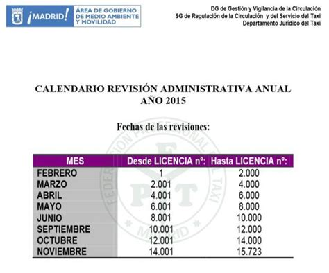 calendario revista taxis df 2016 setravi calendario revista vehicular taxis 2015
