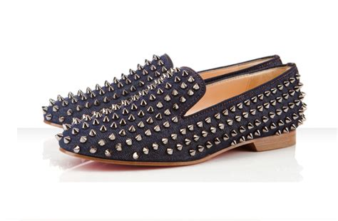 wag loafers loathe christian louboutin studded loafers searching