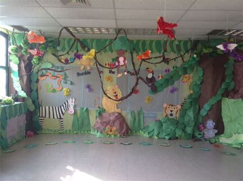 Safari Decorating Ideas by Las 25 Mejores Ideas Sobre Tema Zool 243 Gico Para Preescolar