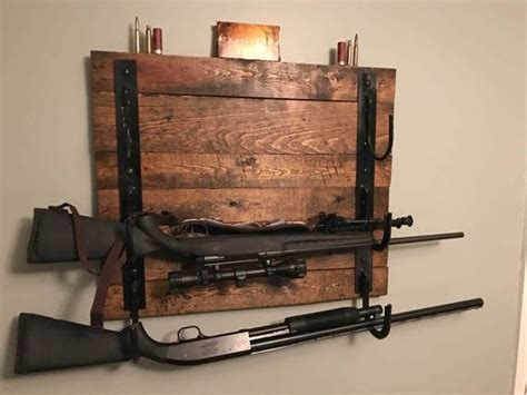 pin  gun rack ideas