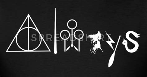 Shelf Designs by Harry Potter Always Symbol T Shirt Spreadshirt