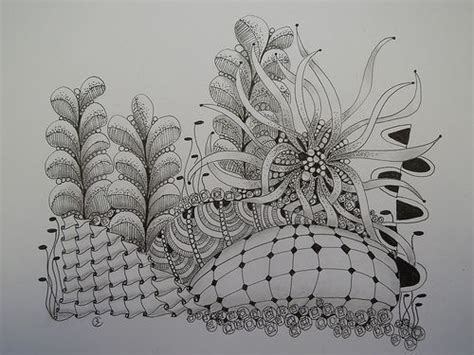 pens for doodle dotty 1000 best images about zentangle landscapes on