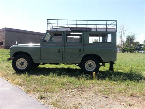 land rover safari for sale 1966 land rover series 2a 109 station wagon safari