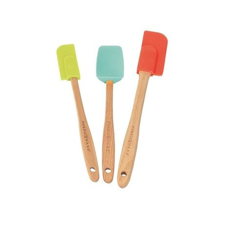 Spatula Set 3 assorted silicone spatula set nordic ware
