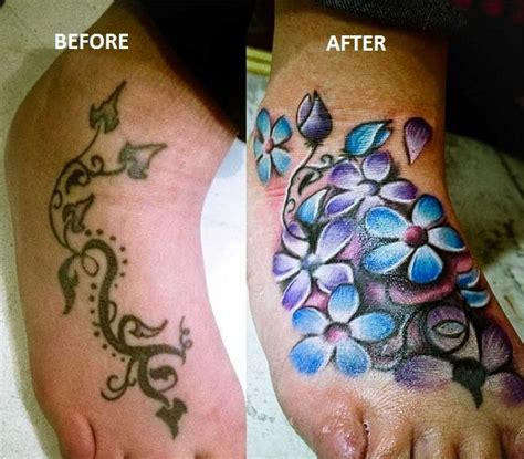 foot tattoo cover up cover up tattoos for ankle cover up ideas