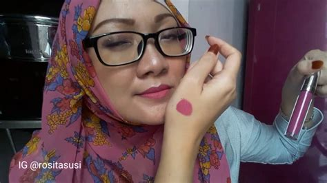Harga Wardah Lip See You Late review wardah exclusive matte lipcream