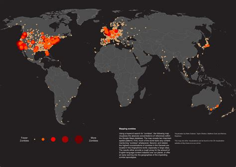 map of usa zombies 628 who put the z in a to z maps of zombieland big think