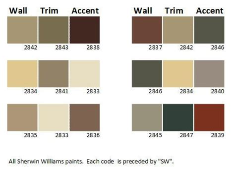 paint palettes for home craftsman house colors get inspired with these ideas