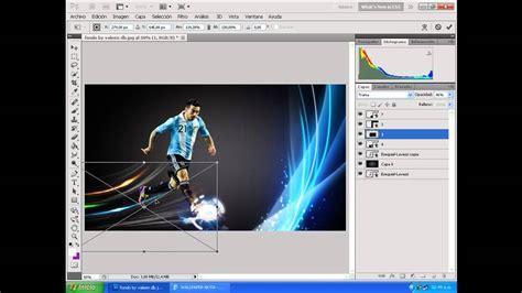 tutorial de photoshop cs5 youtube como hacer un wallpaper de futbol en photoshop cs5 youtube