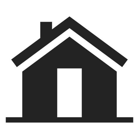 simple house black silhouette transparent png svg