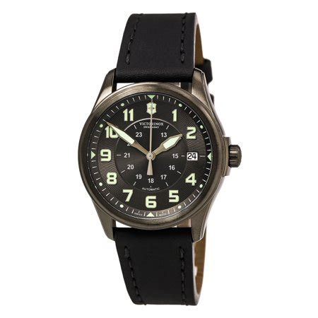 Swiss Army Infantery Black swiss army 241518 s infantry black black leather