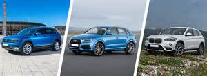 vw tiguan vs audi q3 vs bmw x1 comparison carwow