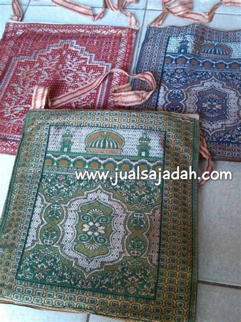 Sajadah Kabah Coklat Motif Kabah souvenir tahlilan jual sajadah turki grosir sajadah