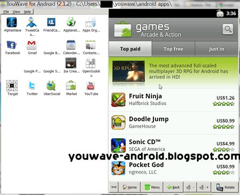 youwave android emulator your android emulator windows youwave bluestacks x86 how to add android market to youwave android