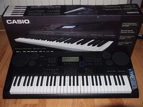 Keyboard Casio Ctk 6000 keyboard casio ctk 6000 statyw karta pami苹ci 4gb