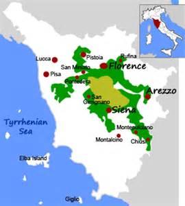 Chianti Italy Map by Chianti Wine Chianti And Tuscany