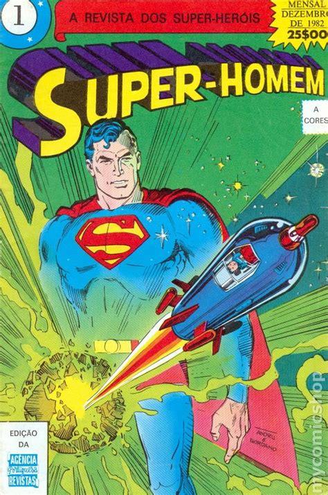 superman portuguese edition homem comic books