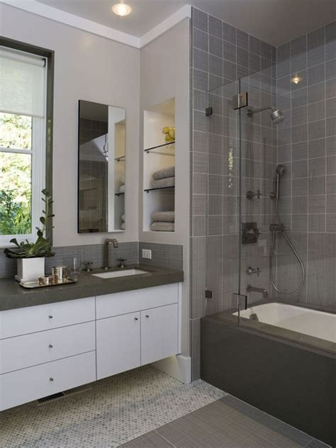 bathroom ideas grey 30 of the best small and functional bathroom design ideas