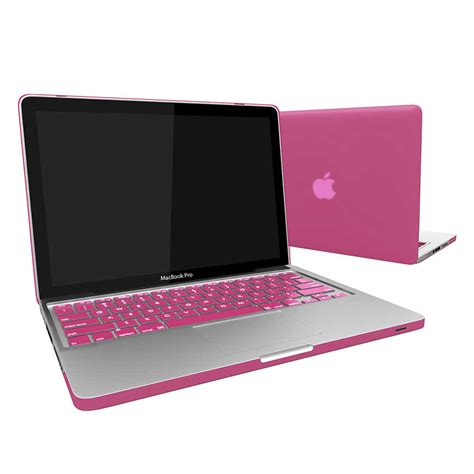 macbook pro case rubberized hard snap on case keyboard cover for macbook