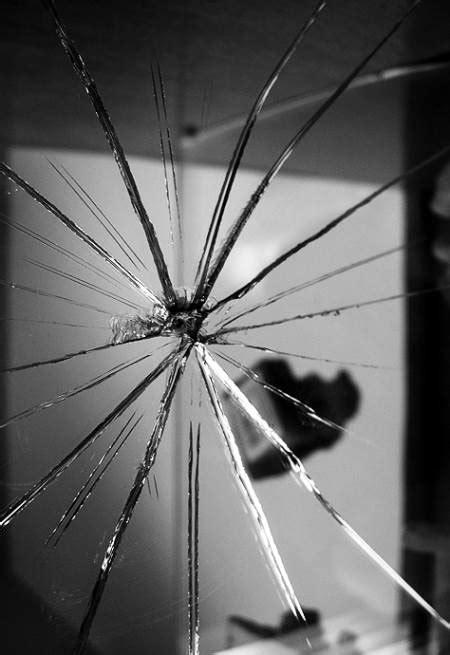 broken bathroom mirror diy rescue how to fix a broken mirror