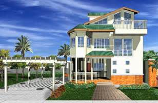 Beach Style House Plans Modern Contemporary Home Design Custom House And Stock