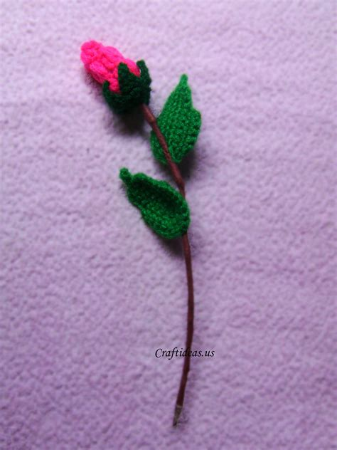 crafts crochet crochet bud for gifts craft ideas